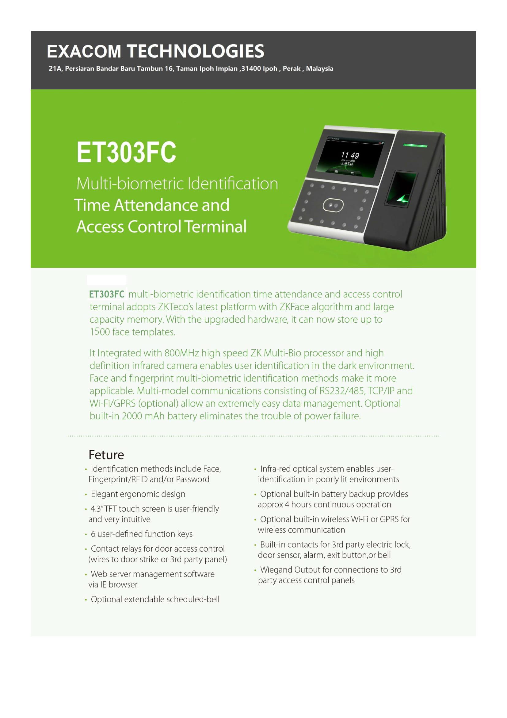 EXACOM TECHNOLOGIES | Product